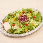 彩り野菜のシーザーサラダ