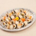 手まり寿司と2種の巻き寿司