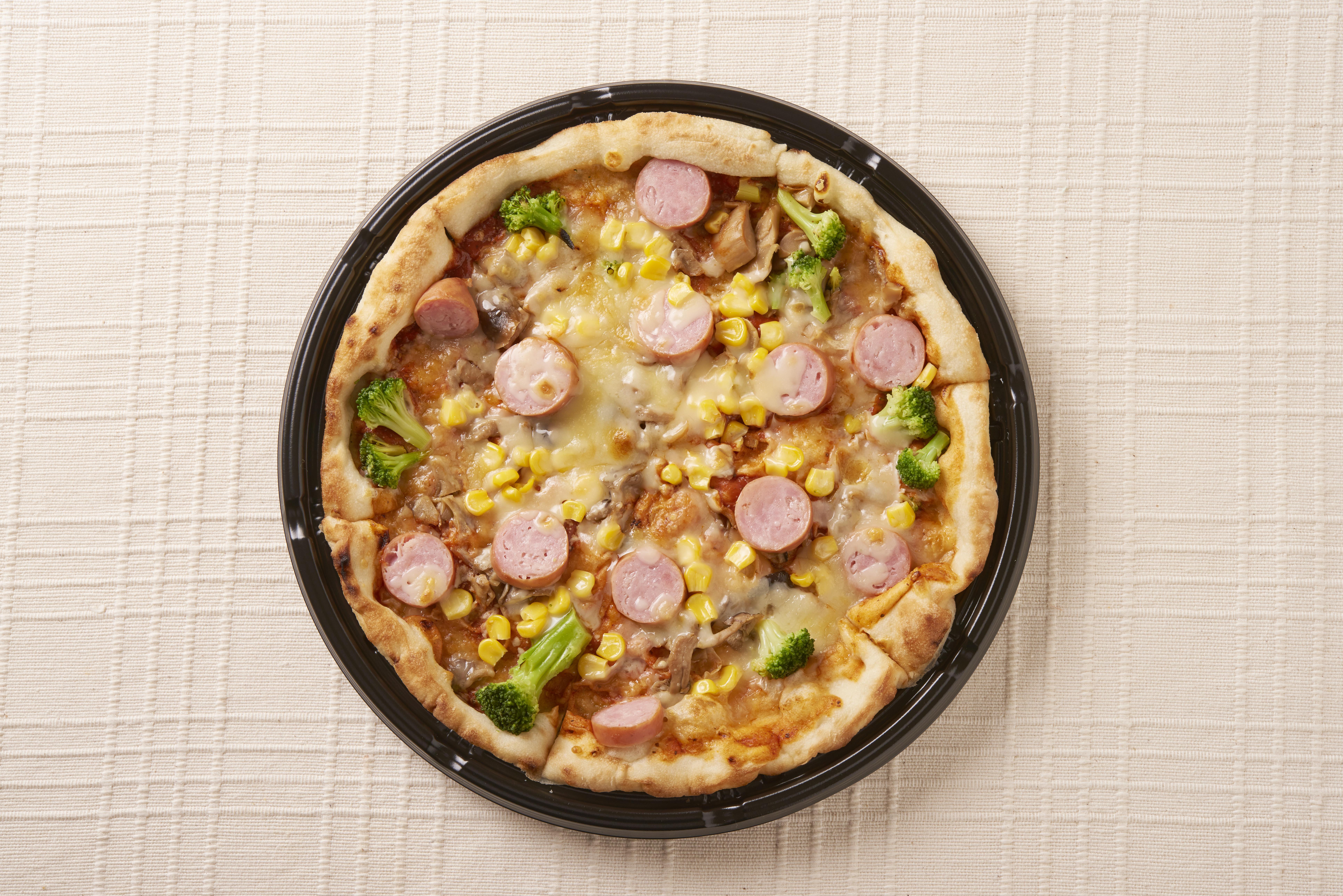 カプリチョーザピザの写真