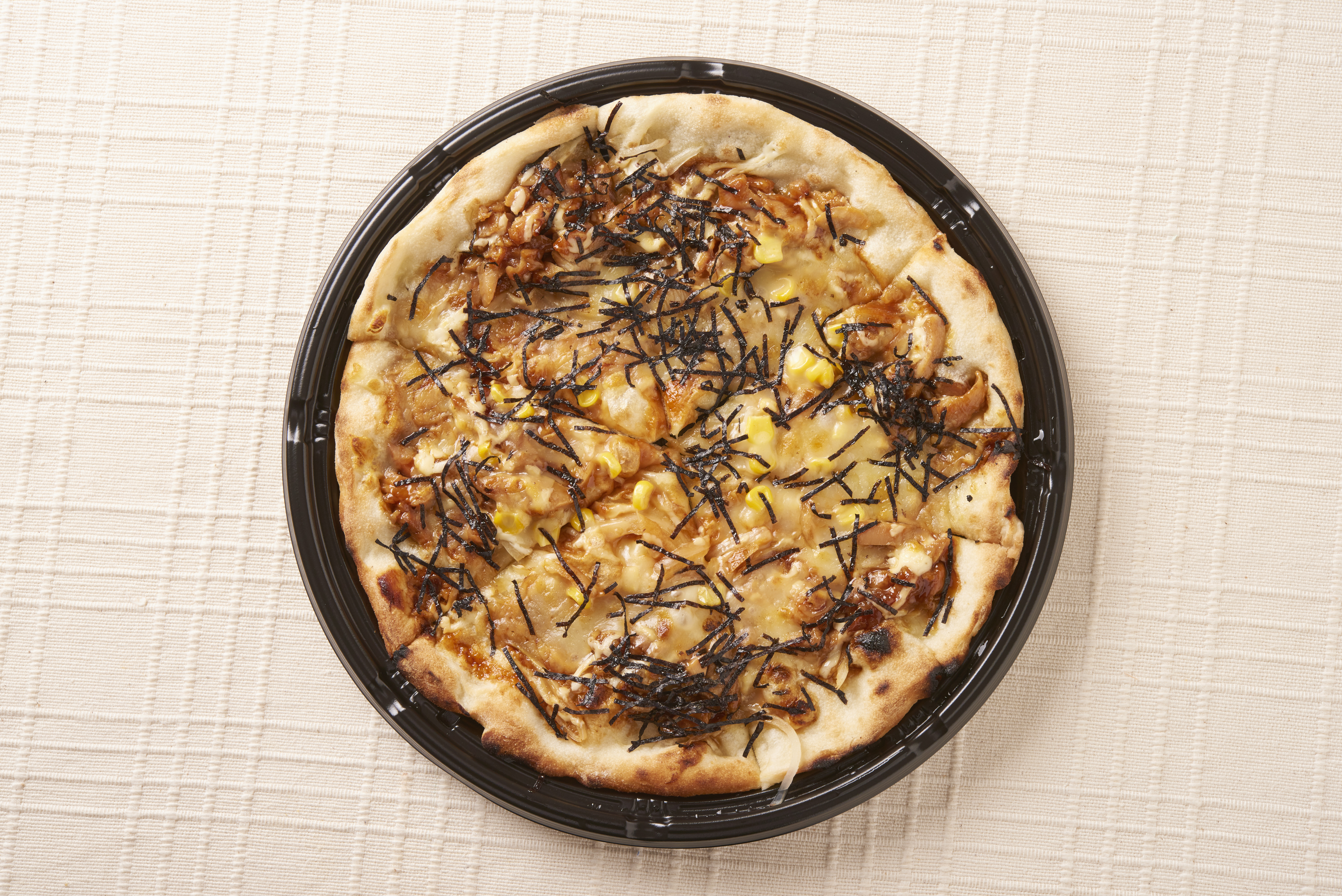 テリヤキチキンピザの写真