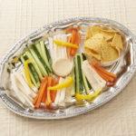 野菜スティック&トルティーヤチップス